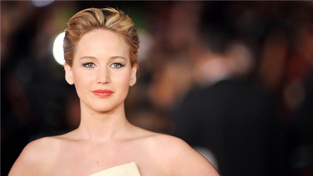 Jennifer Lawrence appears at the premiere of The Hunger Games: Catching Fire during the 2013 Rome Film Festival in Rome, Italy on Nov. 14, 2013.
