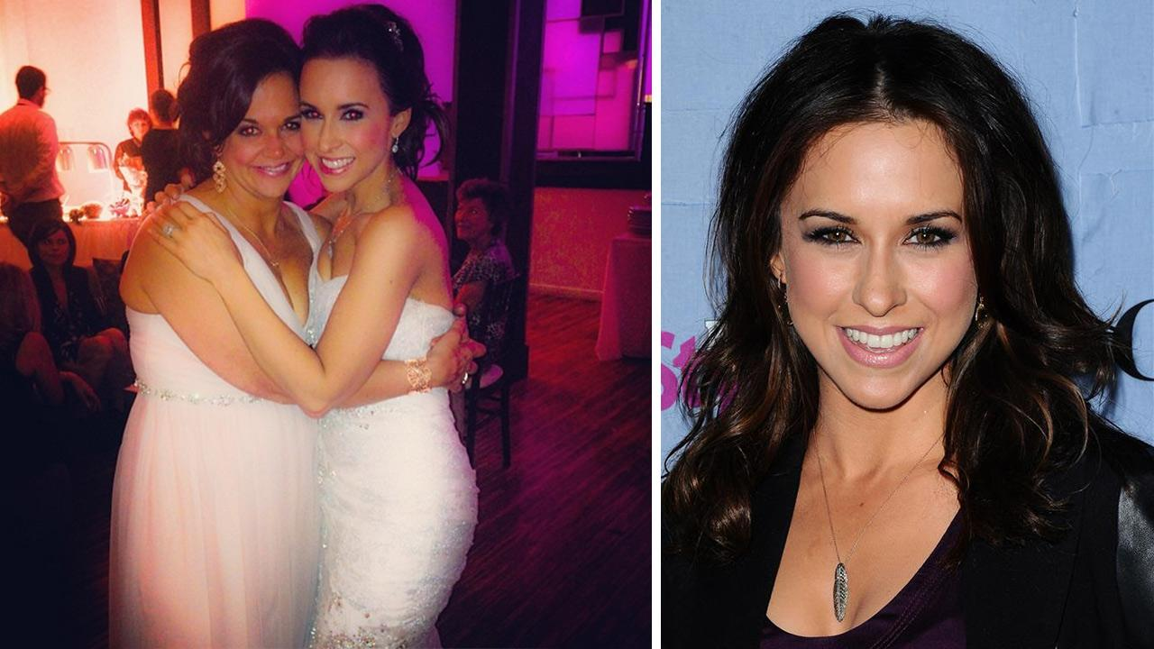 Otrc Lacey Chabert Is Married Mean S Star Shares Photo