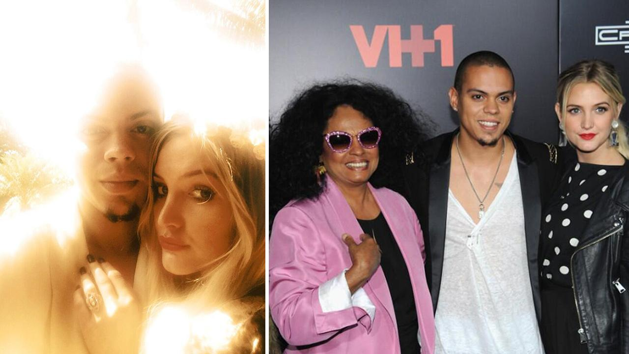 OTRC: Ashlee Simpson Engaged To Evan Ross, Son Of Diana Ross (Photo)