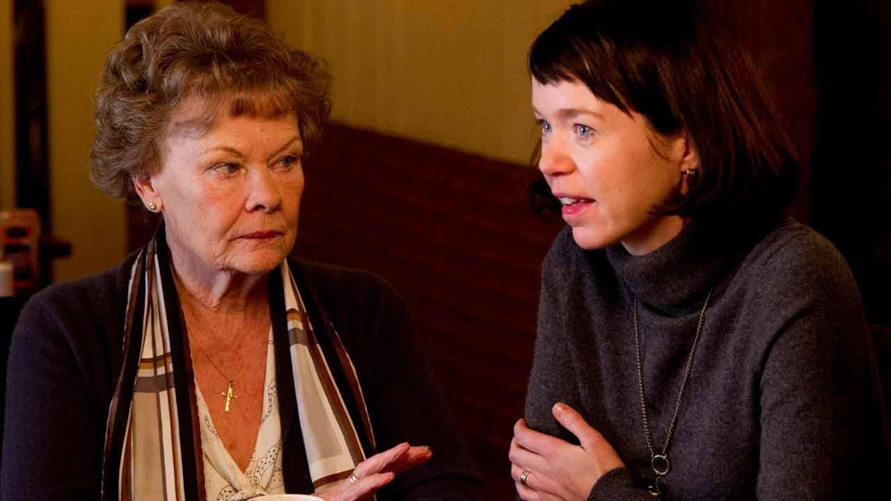 Judi Dench appears in a scene from the 2013 film Philomena. She plays Philomena Lee.The Weinstein Company