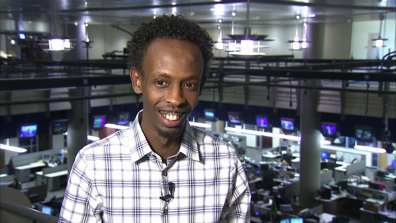Barkhad Abdi, who plays the Somali pirate Muse in Captain Phillips, talks to OTRC.com about the film and his life in December 2013. He is nominated for an Oscar for his role.