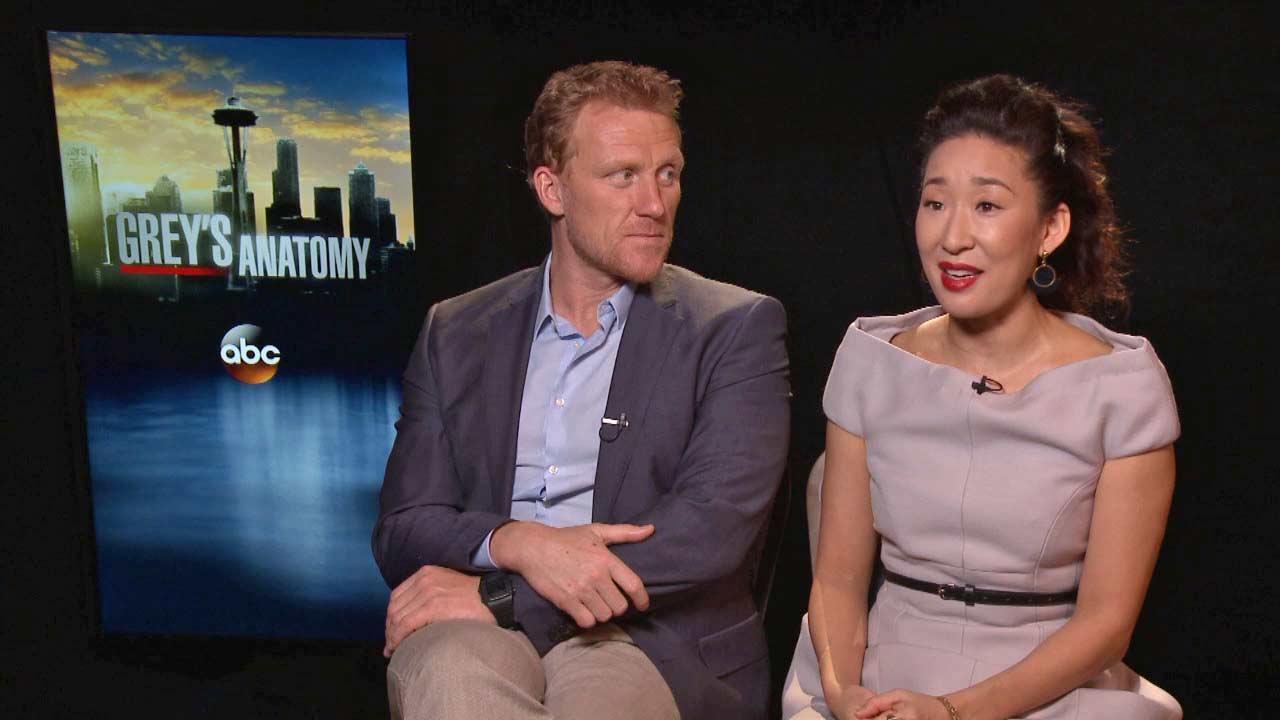 'Grey's Anatomy's Sandra Oh, Kevin McKidd talk ...