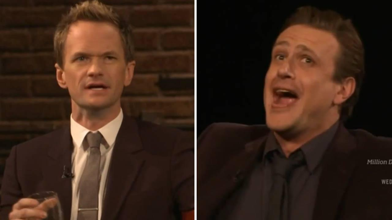 Neil Patrick Harris and Jason Segel appear on Inside The Actors Studio in a March 2014 episode to discuss How I Met Your Mother.