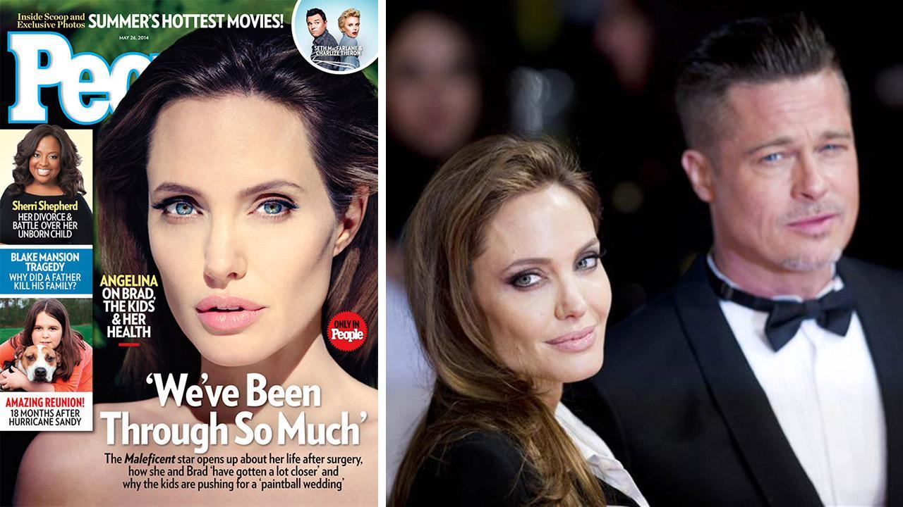 Otrc Angelina Jolie And Brad Pitt To Have Disney Wedding Actress Talks Kids Involvement
