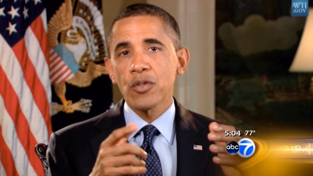 Obama addresses Chicago violence in message to students