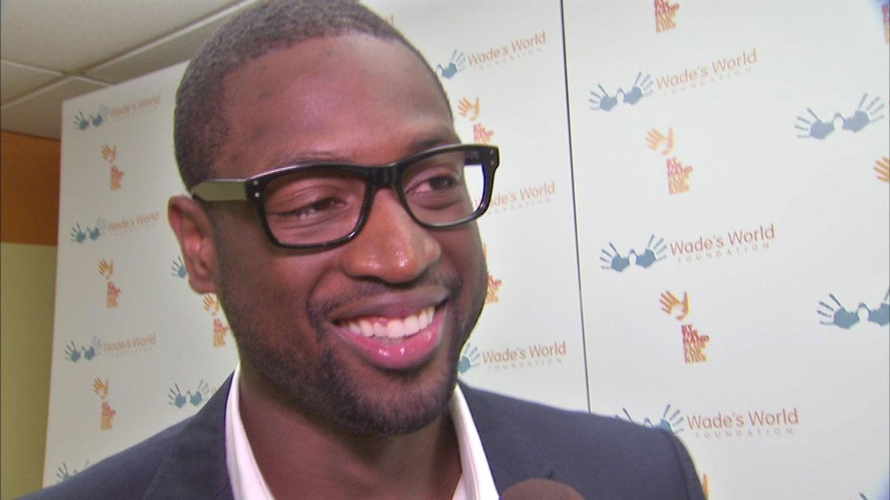 Dwyane Wade in Chicago for Wade's World Weekend fundraiser