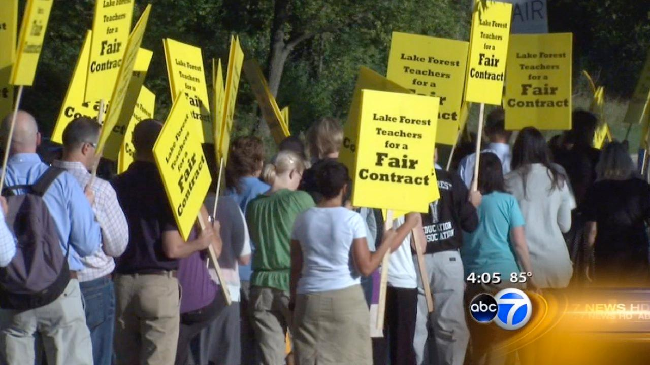 Lake Forest Strike: School open Monday as strike continues