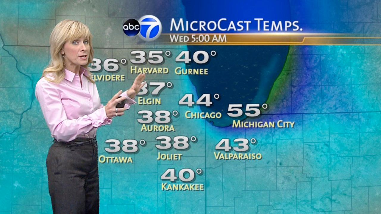 Chicago Weather: Cold settles over city, frost possible in suburbs