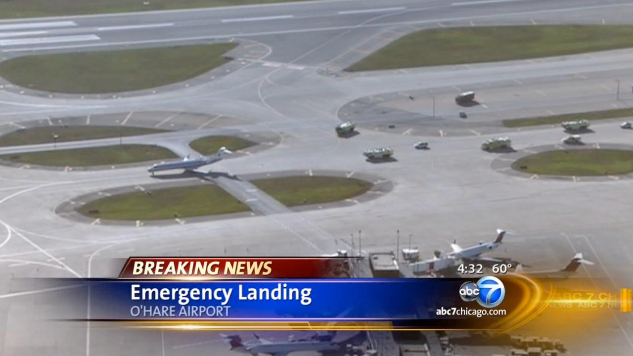 Plane returns to ORD after smoke in cockpit