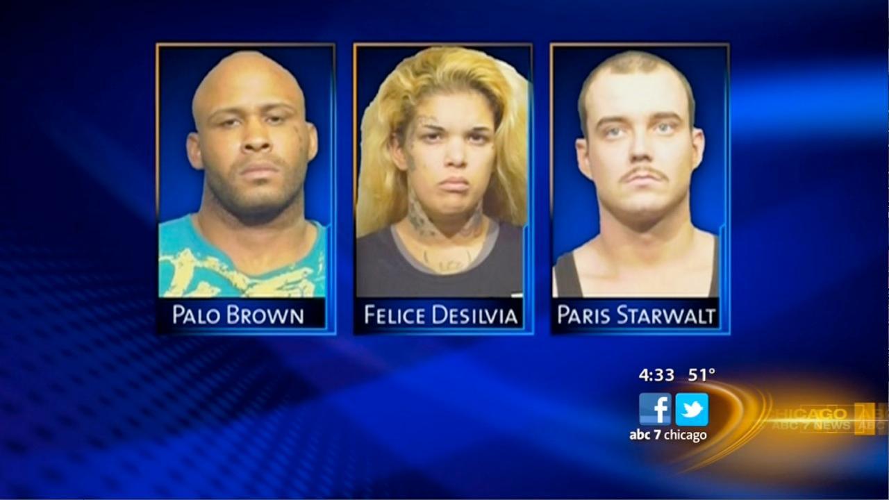 Woman fights off burglary suspects