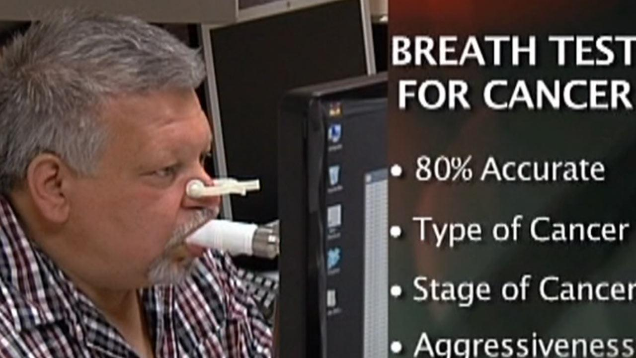 Breath test a new screening tool for cancer?