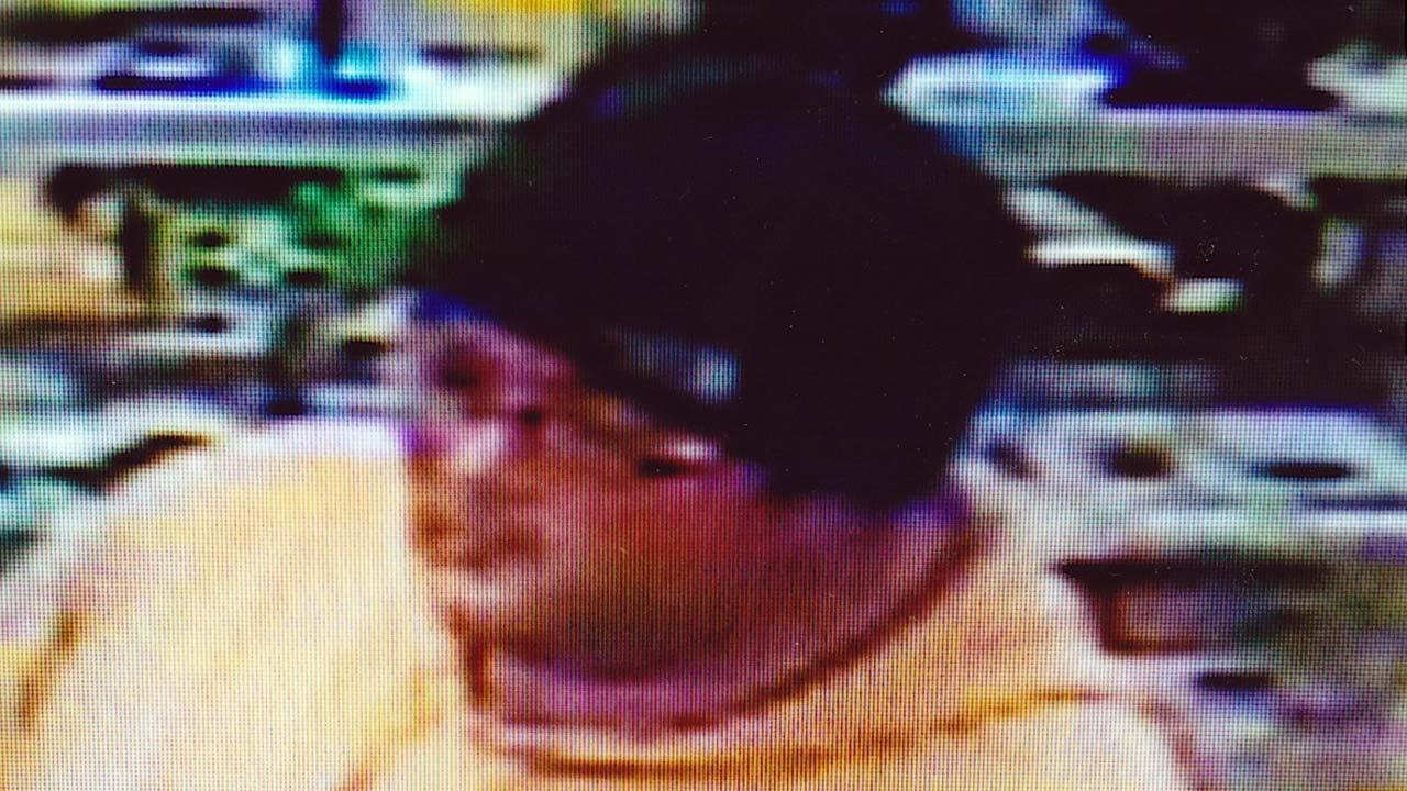 Police in Crown Point have released a surveillance picture of the suspect who stole a jar filled with donations for a 10-year-old cancer patient.