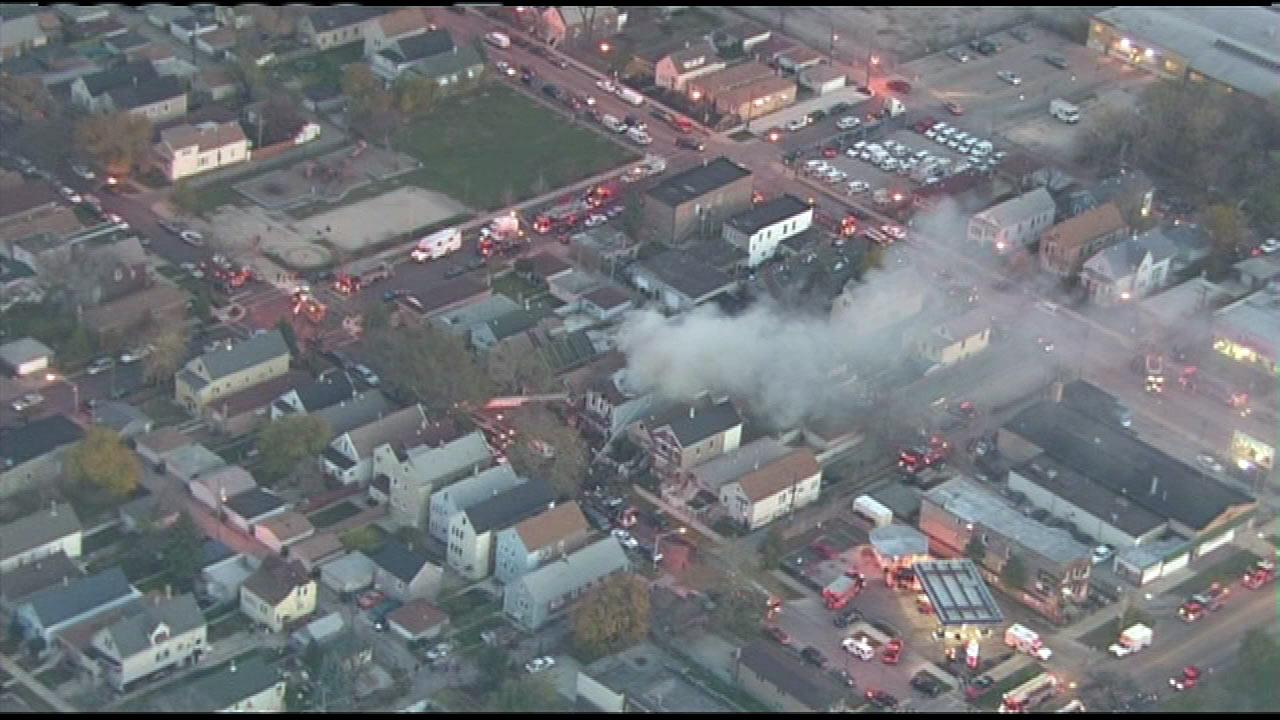 A Chicago firefighter died Friday, Nov. 2, 2012, while battling a stubborn fire on the citys Southwest Side.