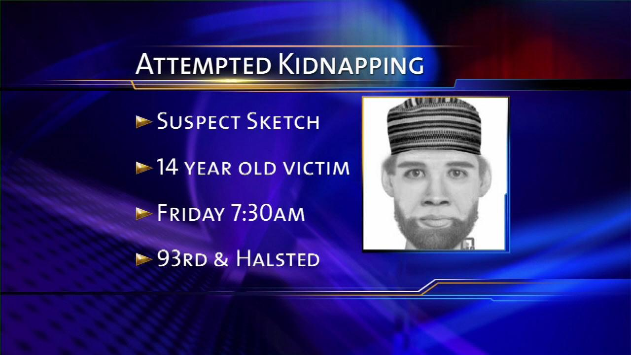 Search on for South Side attempted abduction suspect