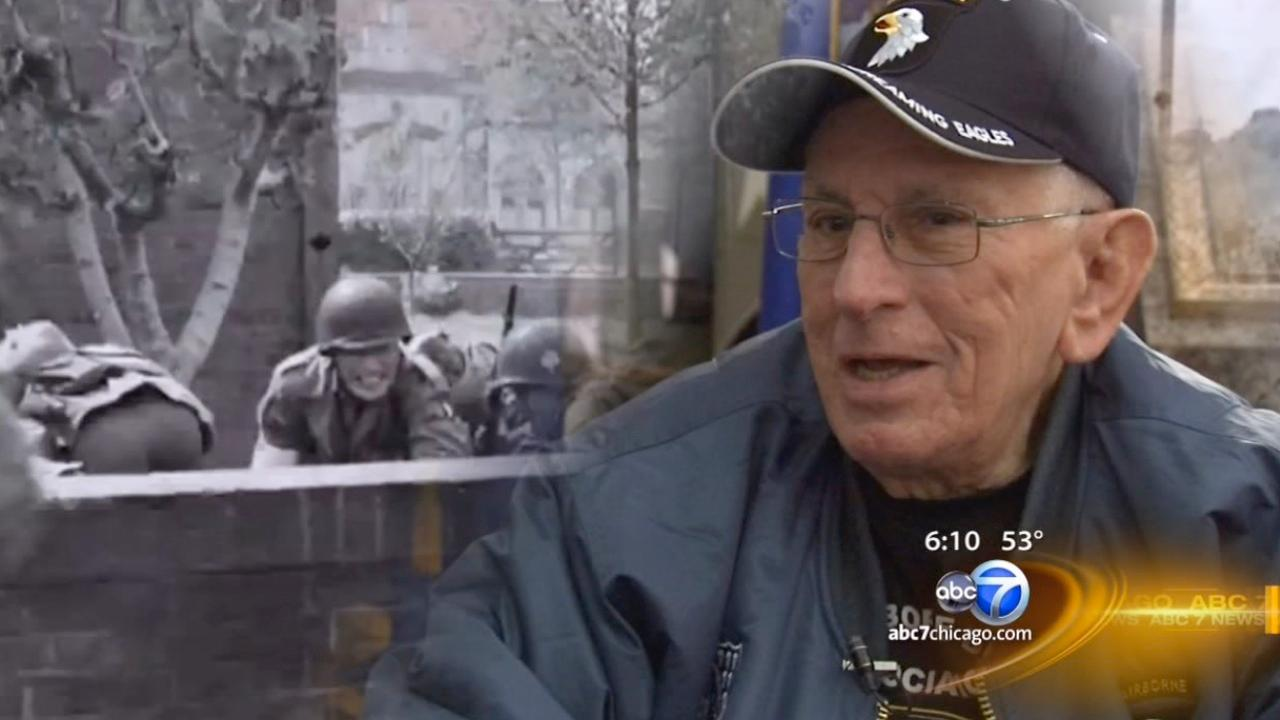 'Band of Brothers' hero reflects on war and life