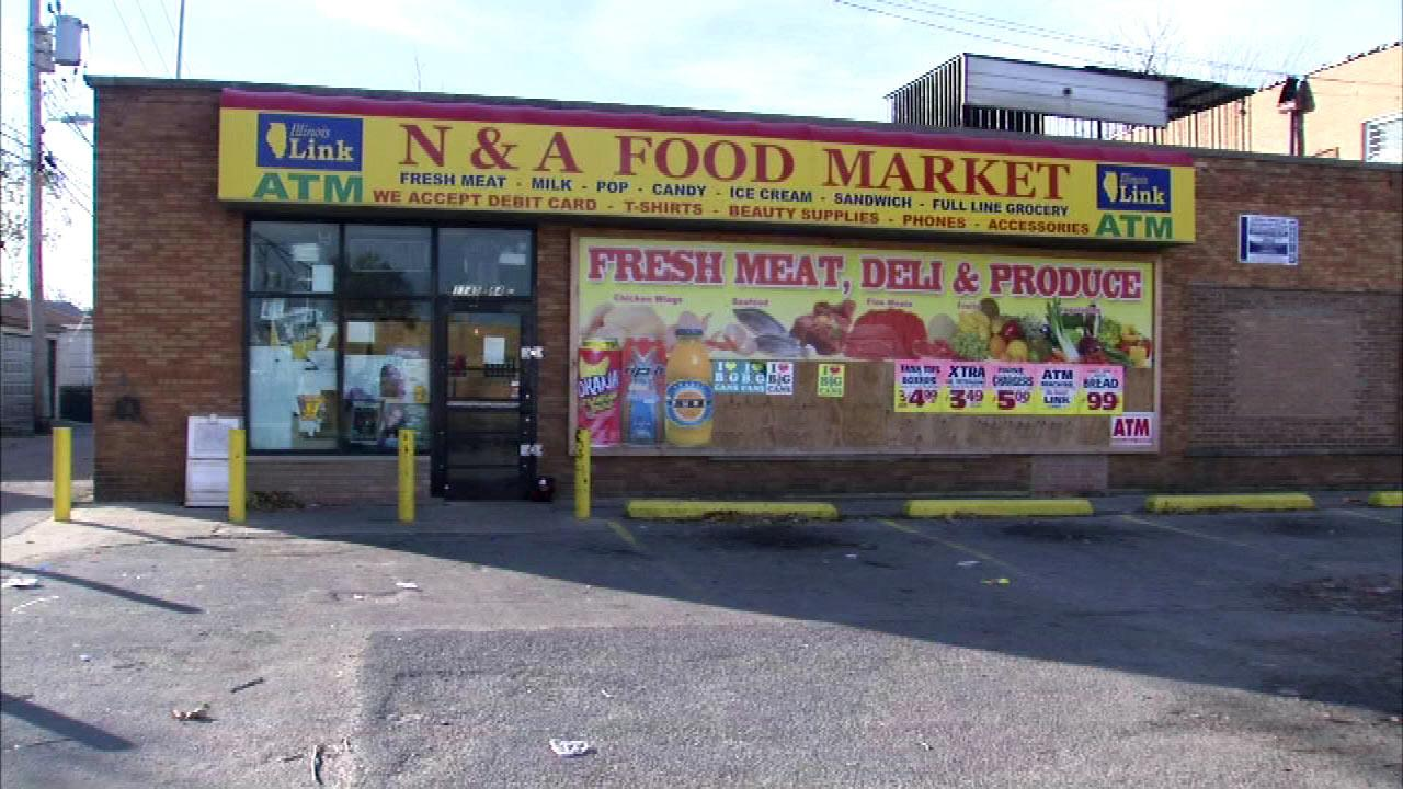 Investigators say they believe robbery was the motive for the shooting of store clerk Elahmadi Goba, Tuesday night, Nov. 13, 2012.