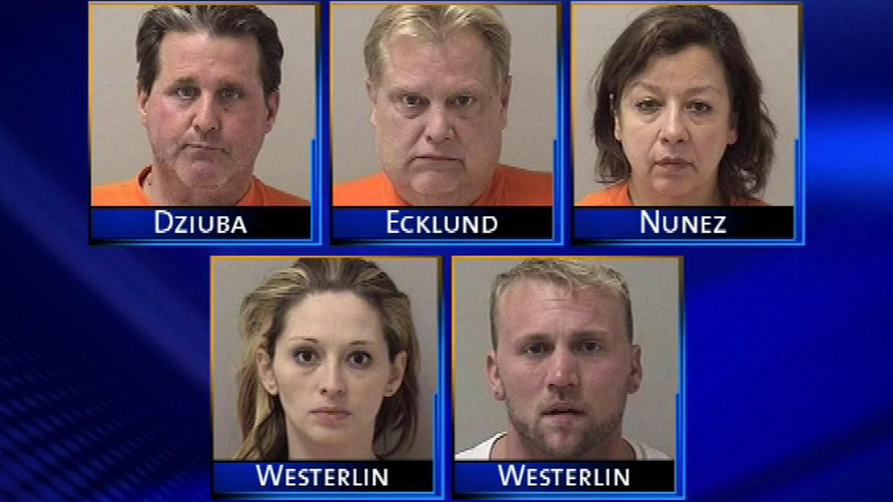 Five people face drug charges as a result of a three-month investigation conducted by drug enforcement officers and Illinois State Police.