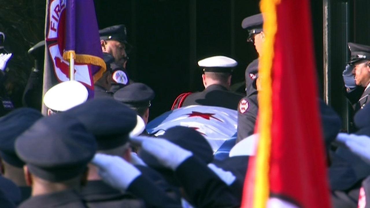 Funeral held for firefighter Walter Patmon Jr.