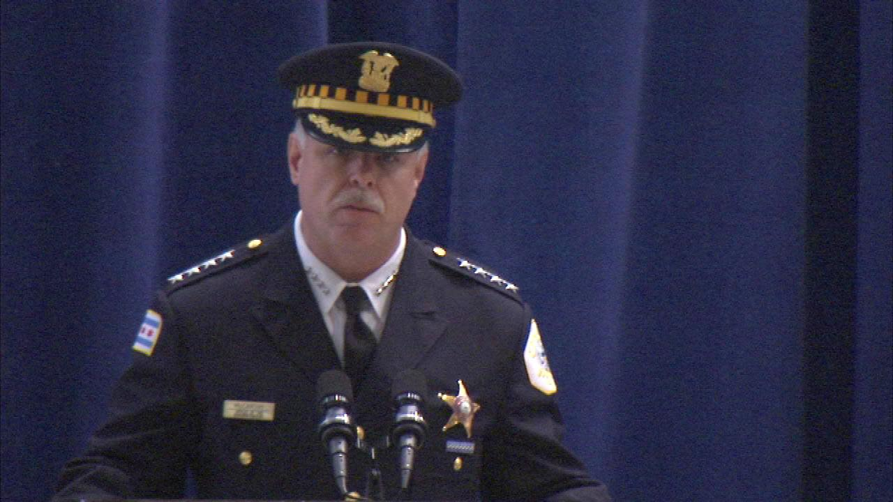 Chicago Police Superintendent Garry McCarthy in Washington for gun violence meeting