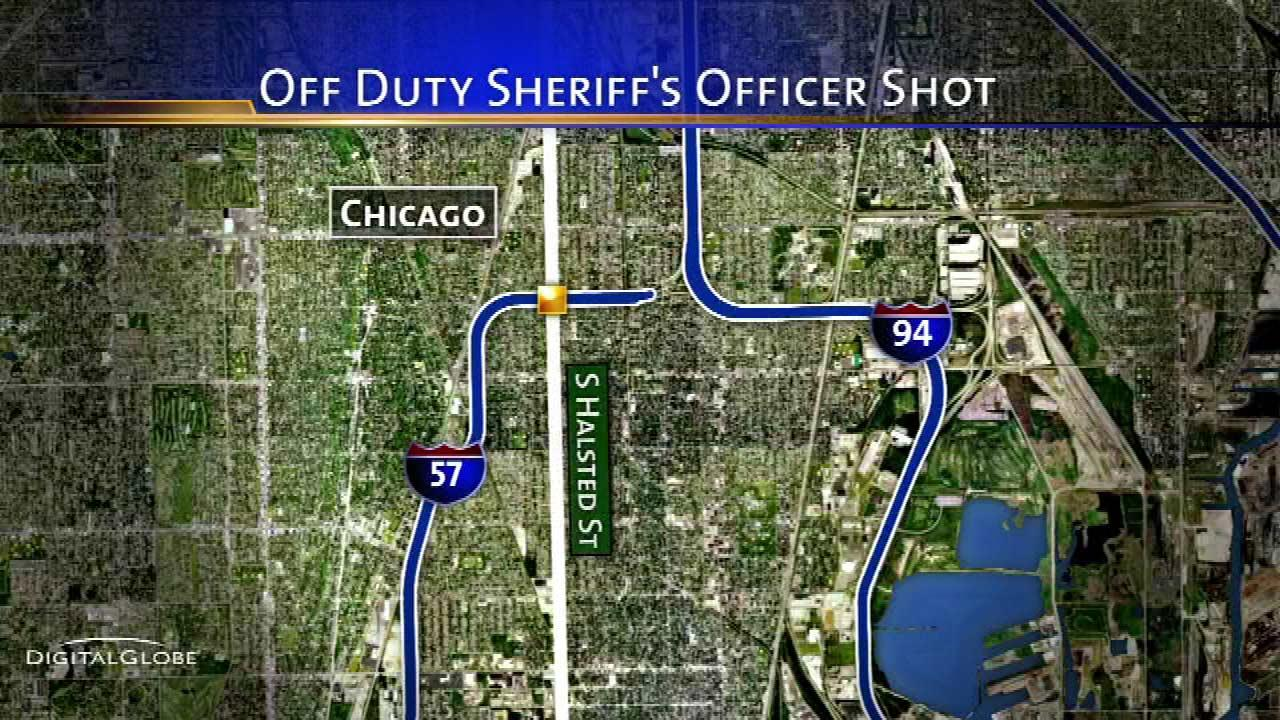 Off-duty Cook County Corrections officer shot