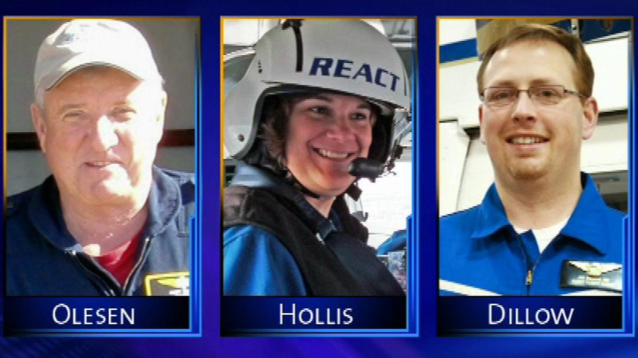 Community remembers pilot, 2 nurses killed in Rochelle medical helicopter crash