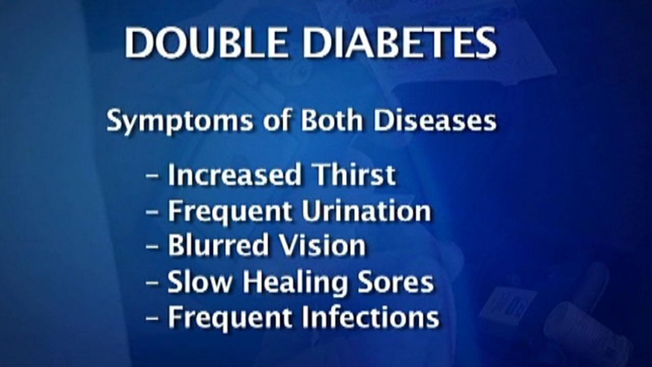 Double diabetes means double trouble