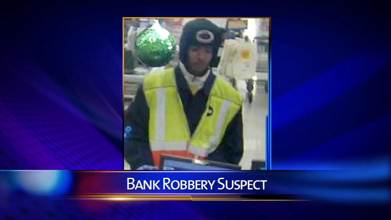 A man dressed as a CTA worker robbed a bank in south suburban Homewood Monday morning, Dec. 17, 2012.