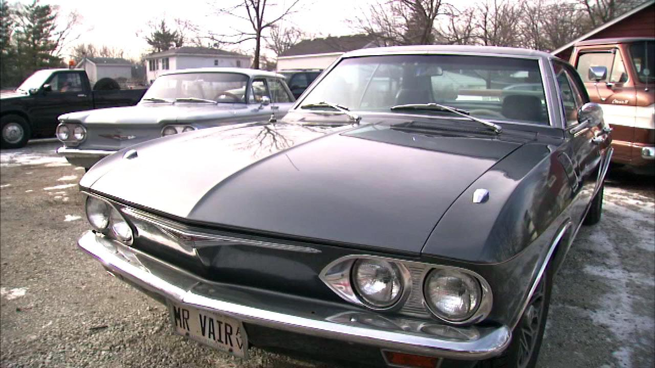 Man keeps Corvairs on the road