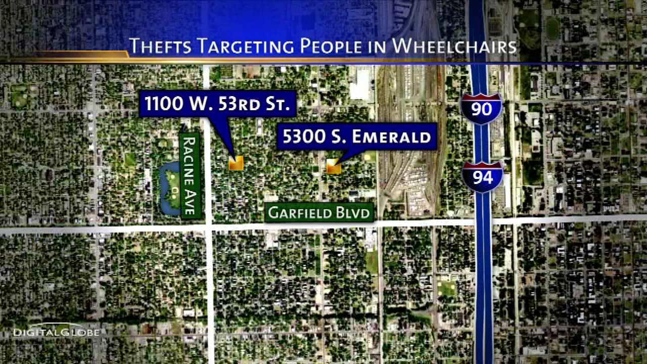 Back of the Yards robbers target people in wheelchairs