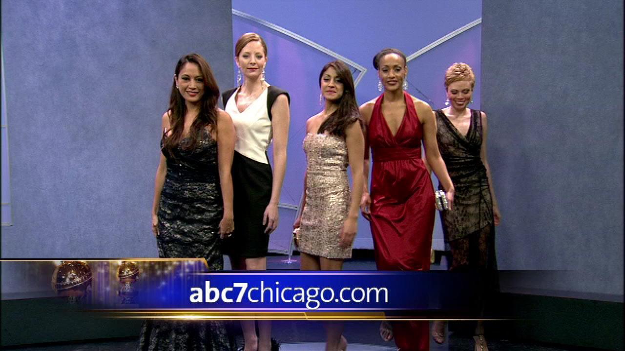 Golden Globes-inspired fashions