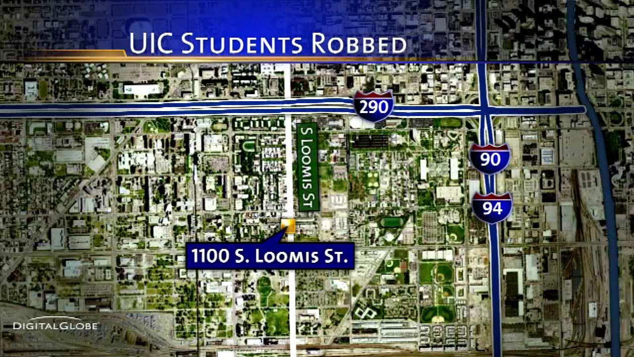 UIC students robbed near campus