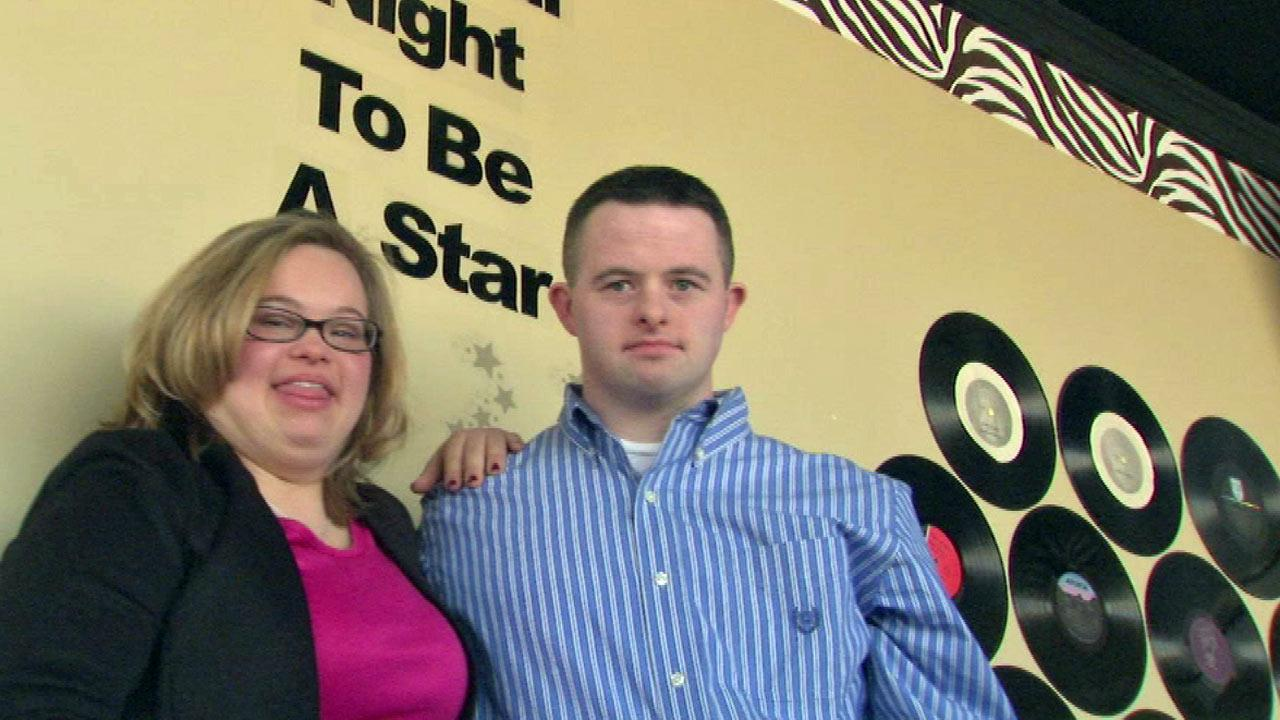 Couple with Down syndrome celebrates Valentine's Day