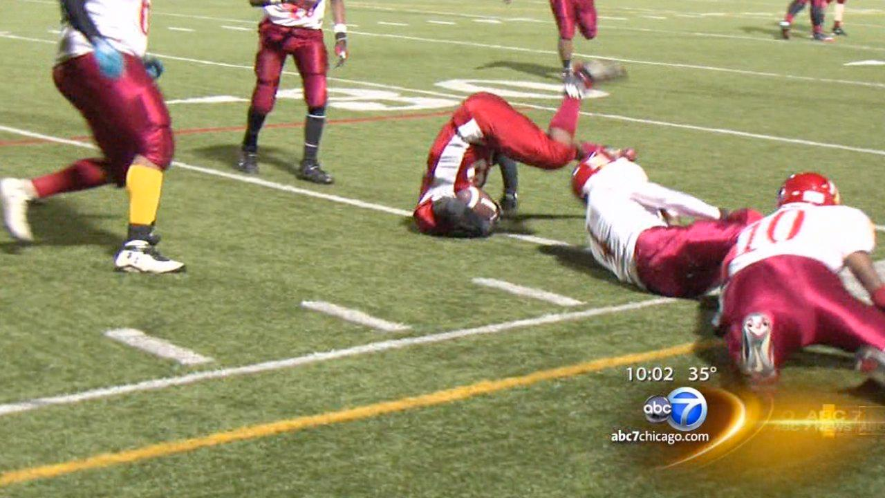 Legislation would limit high school football tackling practices