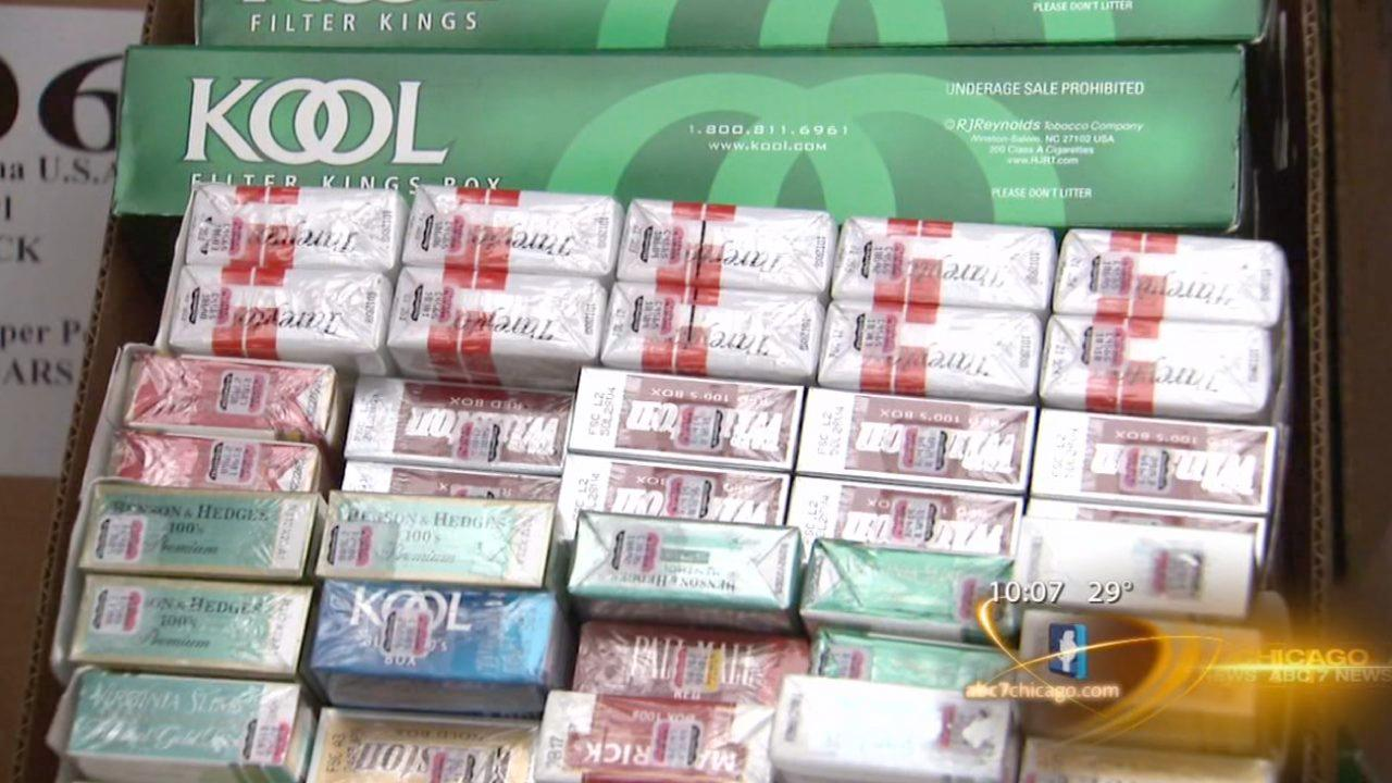 EXCLUSIVE: Major illegal, counterfeit cigarette bust in Cook County