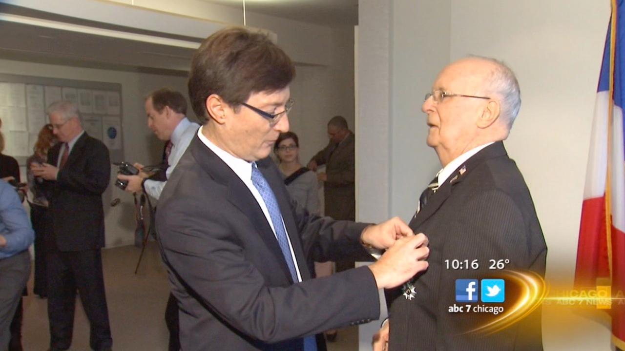 Schaumburg WW2 veteran honored by France