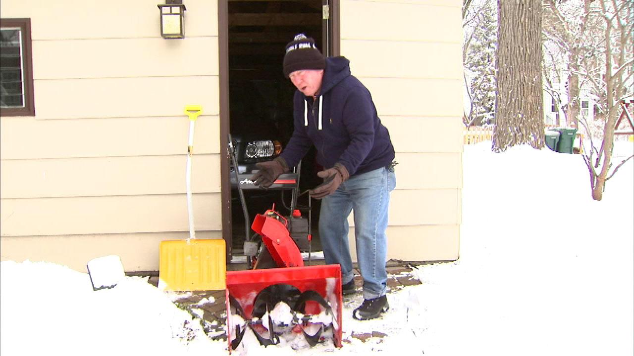Ode to a Snow Blower, by Frank Mathie