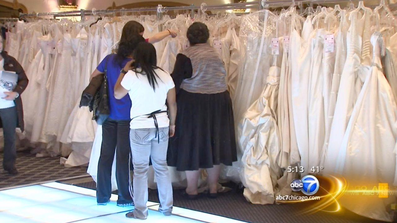 Wedding gowns sold to support breast cancer patients
