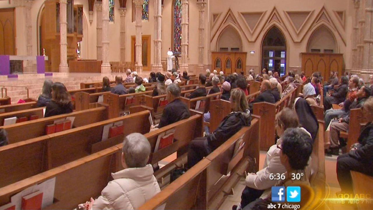 Holy Name Cathedral holding services as conclave begins