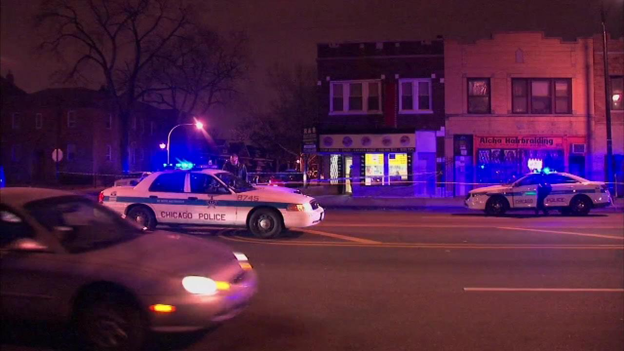 A 14-year old boy is in stable condition after he was wounded in the chest while standing in the 5100-block of West North Avenue.