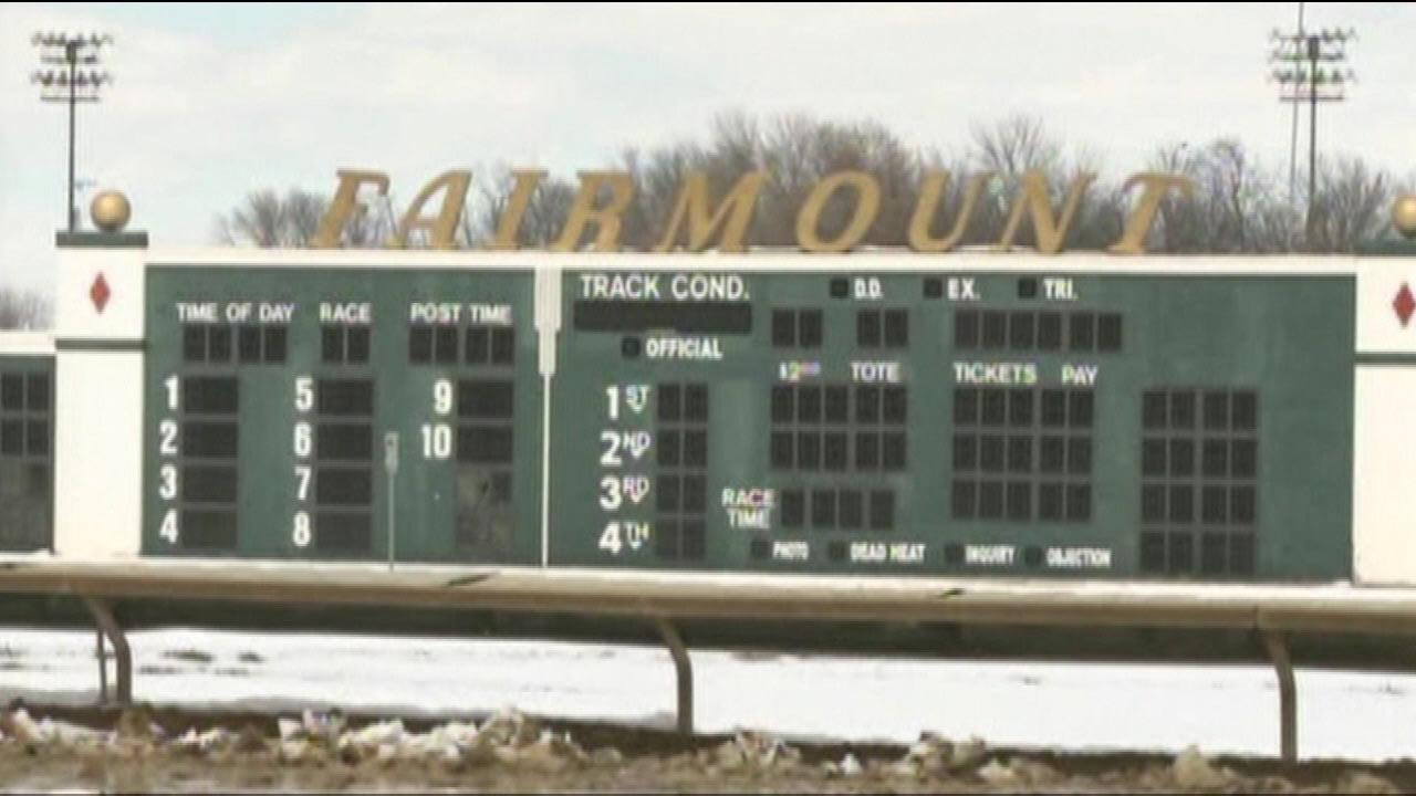 For the first time in its 87-year history,  Fairmount Park in Collinsville had to postpone opening day.