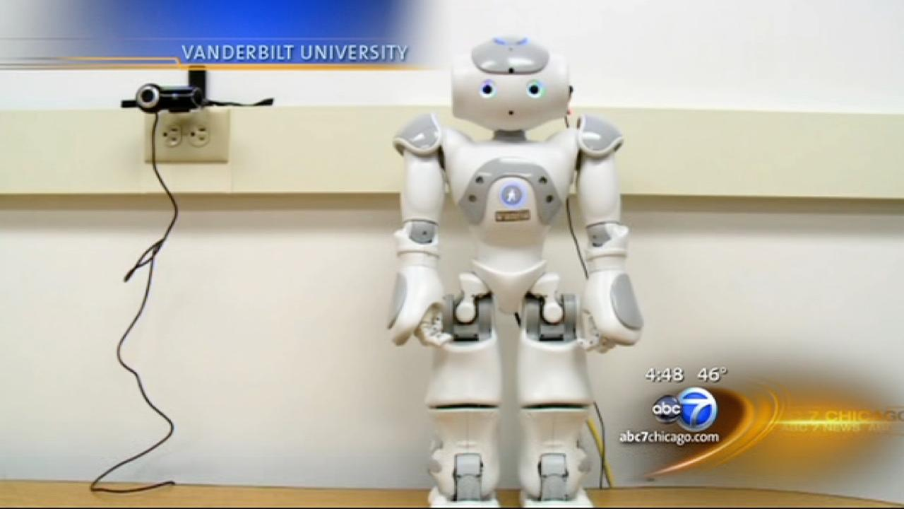 Robots offer a new approach for autisitic kids