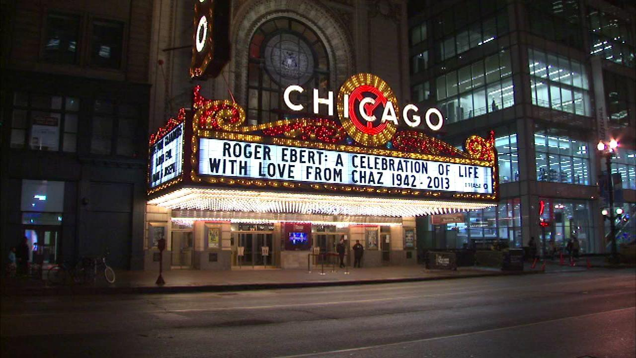 Roger Ebert tribute at Chicago Theatre