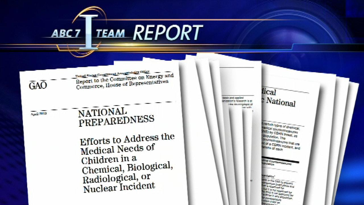 Federal report looks at children's needs in even tof terrorist attack