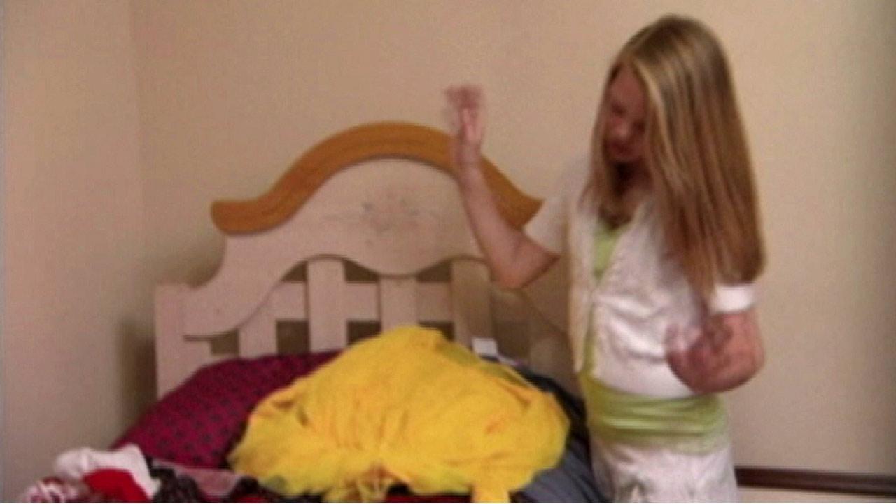 Kaylee Lindstrom, 10,  is a self-proclaimed fashionista.