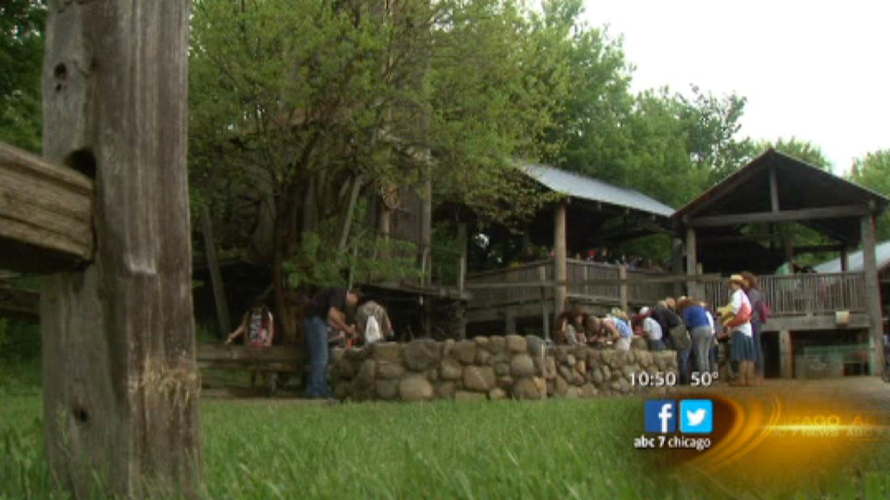 Step back in time at 'Wild West Town' in McHenry County