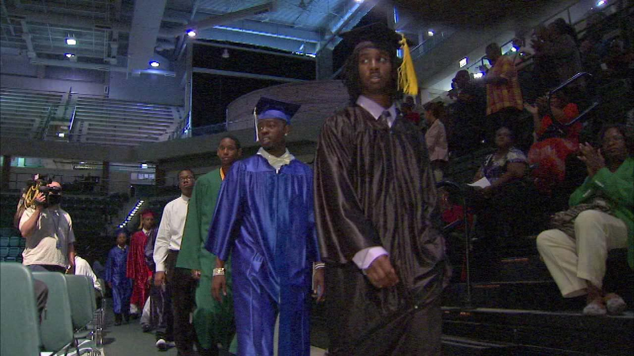 Mass graduation celebrates young Black men