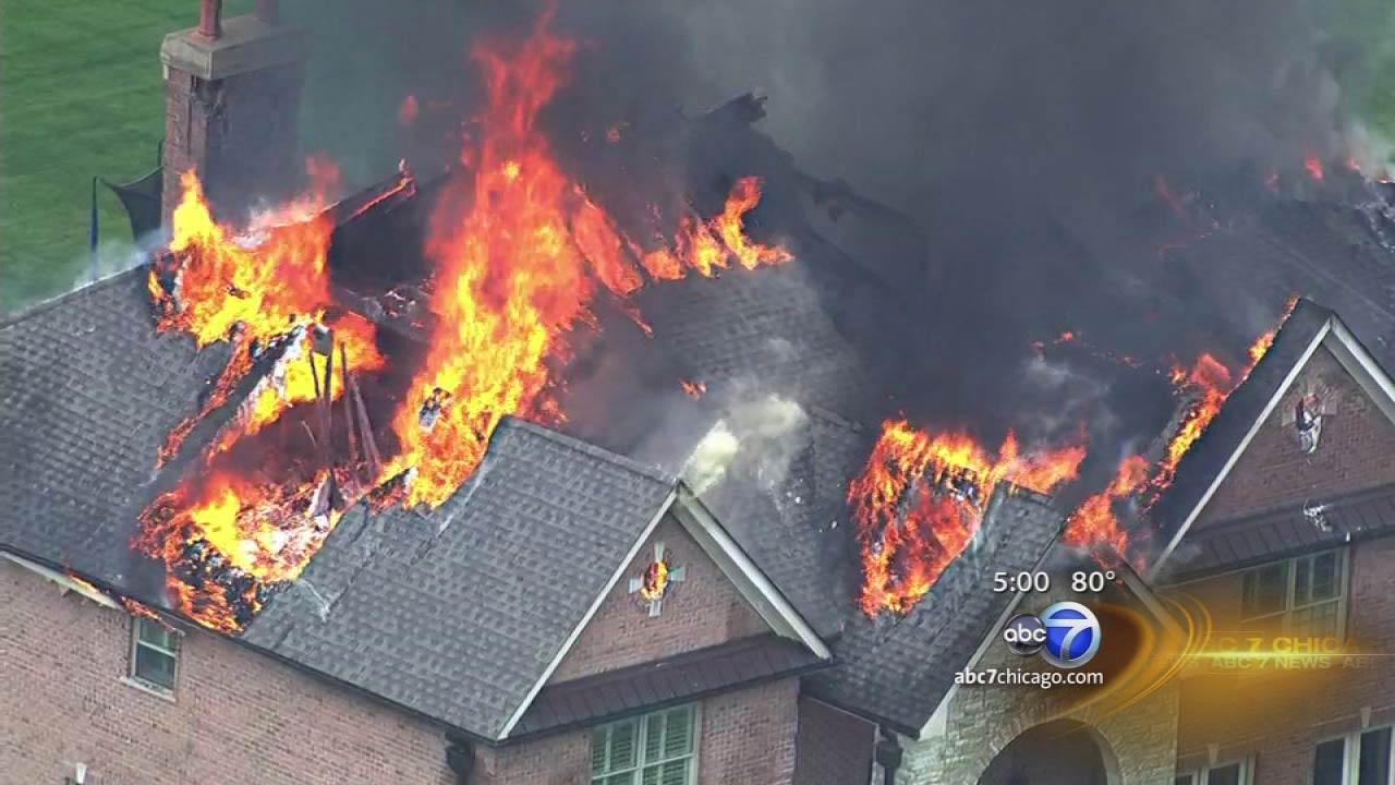 South Barrington fire causes major damage to home