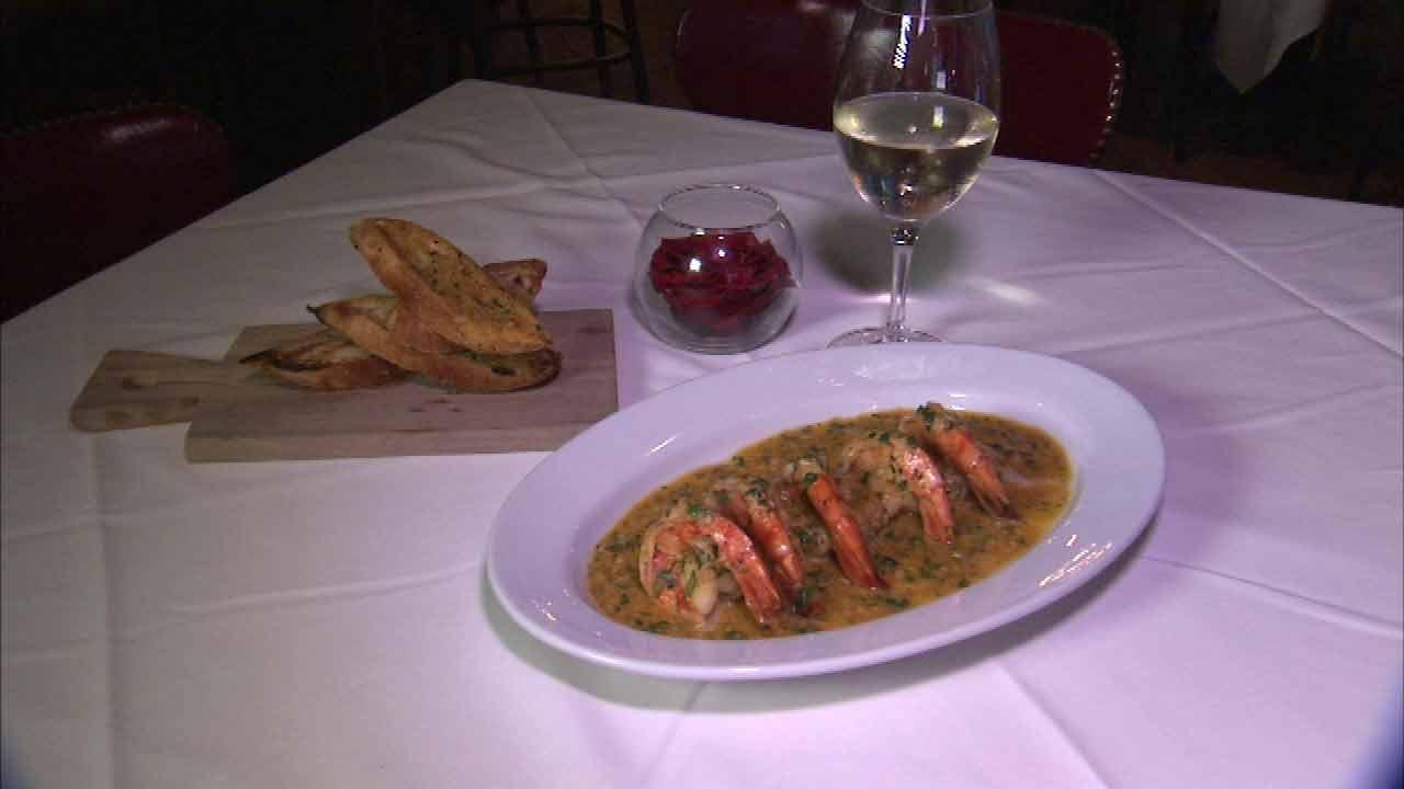 Shrimp de Jonghe a Chicago culinary icon
