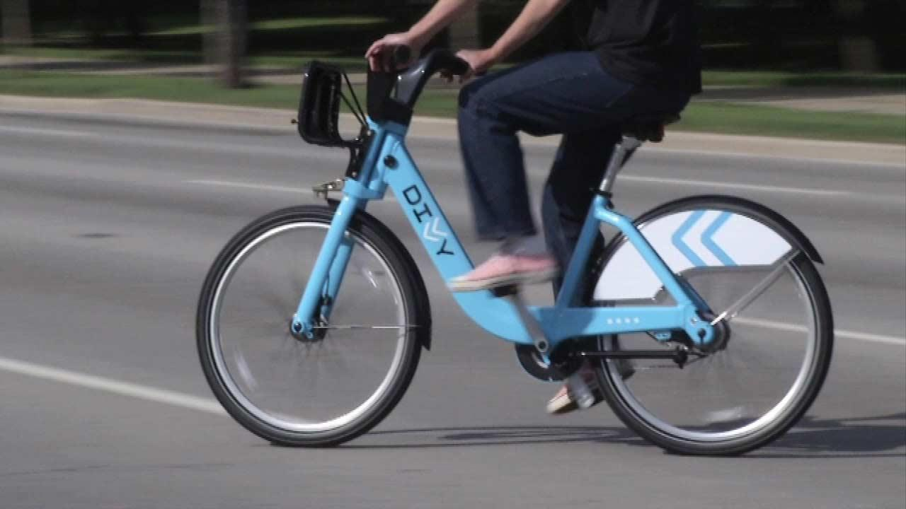 Chicagos bike sharing program, Divvy.