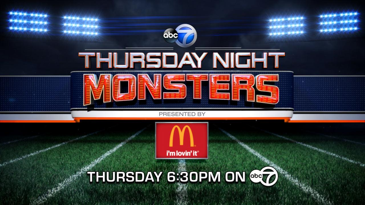 Thursday Night Monsters and Pre-Season Game on ABC7 | Vote: Online Poll